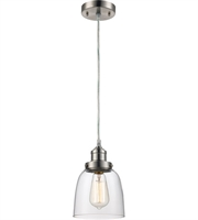 Picture for category Trans Globe Lighting PND-1081 Pendants Brushed Nickel Metal Jenny