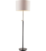 Picture for category Trans Globe Lighting RTL-8981 Floor Lamps Black and Brushed Nickel Metal Junction