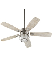 Picture for category Quorum Lighting 3525-65 Indoor Ceiling Fans Satin Nickel Galeston