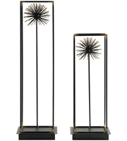 Picture for category Uttermost 18837 Decor Aged Black and Gold Iron Flowering Dandelions