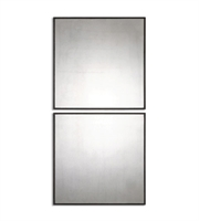 Picture for category World of Decor RL-129089 Mirrors Aged Black Mdf Matty Squares