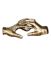 Picture for category World of Decor RL-147051 Decor Antiqued Gold Iron Hold My Hand