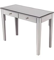 Picture for category Tables With Silver Paint Finish Grey Color and Solid Wood MDF Material size 31 X 42 inch