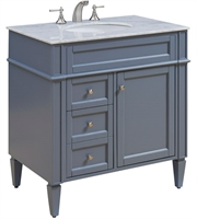 Picture for category Furnitures With Grey Finish Grey Color and Solid Wood MDF Material size 35 X 32 inch