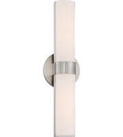 Picture for category Bathroom Vanity 2 Light With Brushed Nickel Finish LED Bulb Type 6 inch 20 Watts