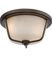 "Picture for category Outdoor Wall Sconces 2 Light Fixtures With Mahogany Bronze Tone Finish Omni Bulb 13"" 19.6 Watts"