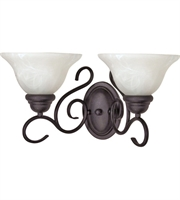 Picture for category RLA Nuvo RL-70675 Bath Lighting Textured Black Metal Castillo