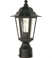 Picture for category RLA Nuvo RL-71225 Outdoor Post Light Textured Black Aluminum Cornerstone