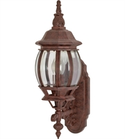 "Picture for category Wall Sconces 1 Light Fixtures With Old Bronze Finish Aluminum Material Medium Bulb 6"" 100 Watts"