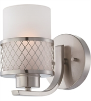 Picture for category RLA Nuvo RL-71551 Bath Lighting Brushed Nickel Metal Fusion