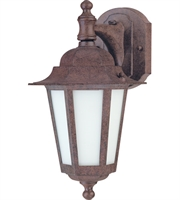 "Picture for category Wall Sconces 1 Light Fixtures With Old Bronze Finish Aluminum Material T2 Bulb 7"" 13 Watts"