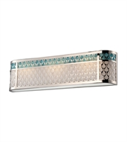 Picture for category Bathroom Vanity 3 Light With Polished Nickel Finish Metal KolourOne 27 inch 14.4 Watts