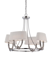 Picture for category RLA Nuvo RL-97944 Chandeliers Polished Nickel Metal Kent