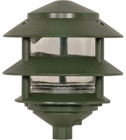 "Picture for category Outdoor Pendant 1 Light Fixtures With Green Finish Metal Material A19 Bulb 6"" 75 Watts"
