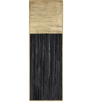 Picture for category Uttermost 04146 Decor Charcoal Black and Metallic Gold Leaf Pine Pierra