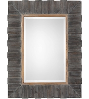 Picture for category Uttermost 09329 Mirrors Rustic Wood with Antiqued Gold Leaf Fir/MDF/Mirror Mancos