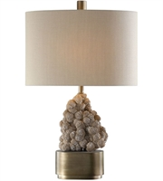 Picture for category Uttermost 27790-1 Table Lamps Antique Bronze Resin/Steel/Fabric Desert