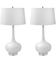 Picture for category Dimond Lighting 242/S2 Table Lamps White Ceramic Del Mar