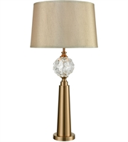Picture for category Dimond Lighting D3525 Table Lamps Cafe Bronze Metal Hand Formed Glass Joule