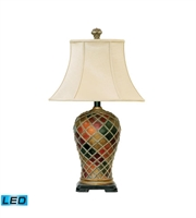 Picture for category Table Lamps 1 Light With Belleue Finish Composite Material Medium Base Bulb Type 30 inch 13.5 Watts