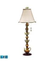 Picture for category Table Lamps 1 Light With Burwell Finish Composite Material Medium Base Bulb Type 35 inch 13.5 Watts