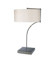 Picture for category Table Lamps 1 Light With Chrome Finish Steel Material Medium Base Bulb Type 22 inch 9.5 Watts