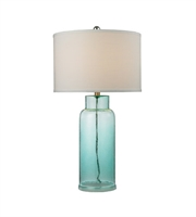 Picture for category Table Lamps 1 Light With Seafoam Finish Glass Material Medium Base Bulb Type 30 inch 150 Watts