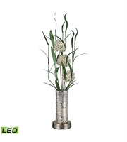 Picture for category Table Lamps 4 Light With Silver Finish Aluminum Material G4 Bulb Type 39 inch 6 Watts