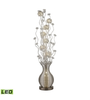 Picture for category Floor Lamps 10 Light With Silver Finish Aluminum Material G4 Bulb Type 63 inch 15 Watts