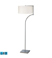 Picture for category Floor Lamps 1 Light With Chrome Finish Steel Material Medium Base Bulb Type 58 inch 13.5 Watts