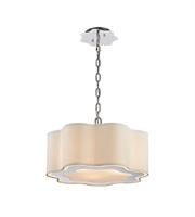 Picture for category World of Lights WLGT143590 Pendants Polished Stainless Steel & Polished Nickel Metal Villoy