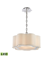 Picture for category World of Lights WLGT143591 Pendants Polished Stainless Steel And Nickel Metal Villoy