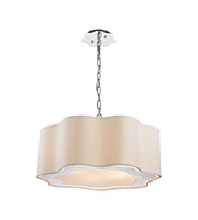 Picture for category World of Lights WLGT143592 Pendants Polished Stainless Steel & Polished Nickel Metal Villoy