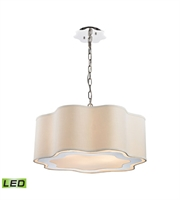 Picture for category World of Lights WLGT143593 Pendants Polished Stainless Steel And Nickel Metal Villoy