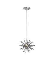 Picture for category World of Lights WLGT143598 Pendants Polished Chrome Metal Starburst