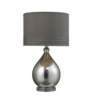 Picture for category Table Lamps 1 Light With Mercury Glass and Acrylic Medium Base 24 inch 100 Watts