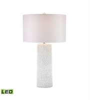 Picture for category Table Lamps 1 Light With White Finish Composite Material LED Bulb Type 30 inch 9.5 Watts