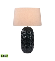 Picture for category Table Lamps 1 Light With Teal Finish Ceramic Material LED Bulb Type 28 inch 9.5 Watts