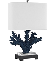 Picture for category World of Lights WLGT145728 Table Lamps Nay Blue Black Composite Crystal Metal Cape Sable
