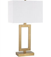 Picture for category World of Lights WLGT145821 Table Lamps Antique Brass Metal Dromos