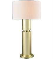 Picture for category World of Lights WLGT145858 Table Lamps Gold Plate Metal Nikki