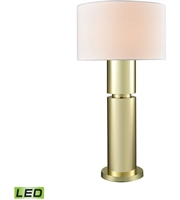 Picture for category World of Lights WLGT145859 Table Lamps Gold Plate Metal Nikki