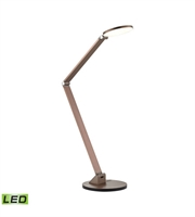 Picture for category Desk Lamps 1 Light With Anodized Rose Gold Finish Aluminum Material LED Bulb Type 19 inch 10 Watts