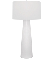 Picture for category Table Lamps 1 Light With White Finish Glass Material E26 Bulb Type 36 inch 100 Watts