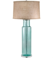 Picture for category Table Lamps 1 Light With Blue Finish Glass Material E26 Bulb Type 30 inch 100 Watts