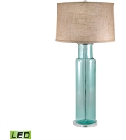 Picture for category Table Lamps 1 Light With Blue Finish Glass Material Medium Base Bulb Type 30 inch 9.5 Watts