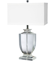 Picture for category Table Lamps 1 Light With Clear Finish Crystal Material E26 Bulb Type 27 inch 100 Watts