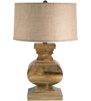 Picture for category Table Lamps 1 Light With Natural Wood Finish Wood Material E26 Bulb Type 28 inch 100 Watts