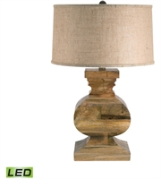 Picture for category Table Lamps 1 Light With Natural Wood Finish Wood Material Medium Base Bulb Type 28 inch 9.5 Watts