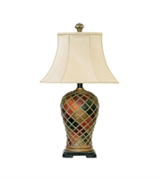 Picture for category Table Lamps 1 Light With Belleue Finish Composite Material Medium Base Bulb Type 30 inch 150 Watts